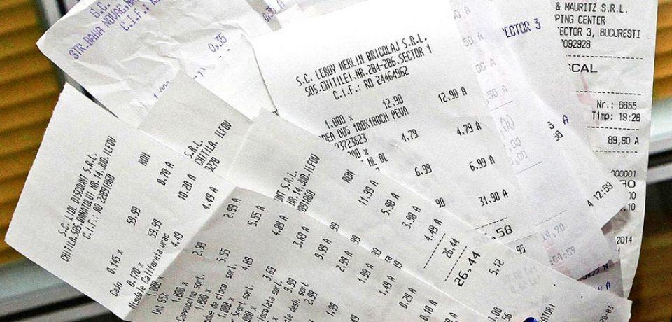 O noua extragere la loteria bonurilor fiscale.  Vezi daca ai bonul castigator pentru iulie