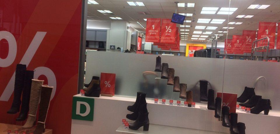 S-a dat startul reducerilor la produsele de iarnă în marile magazine din Oradea