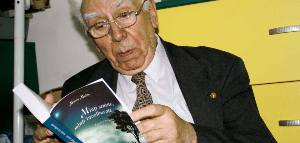 La multi ani cu sanatate, academicianului Mircea Malița, nascut in urma cu 90 de ani la Oradea