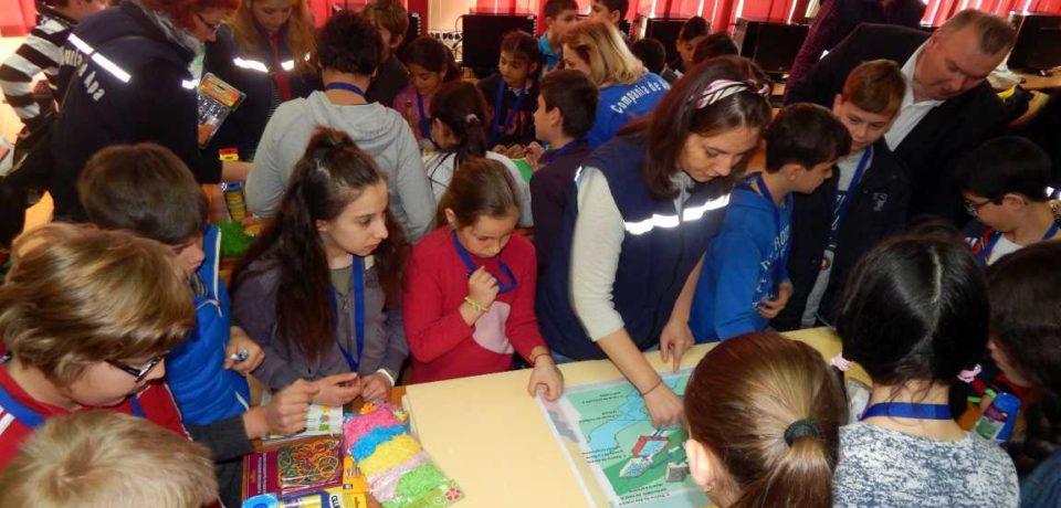 De Ziua Mondiala a Apei, elevii din Tinca si Beius au confectionat machetele unor statii de epurare