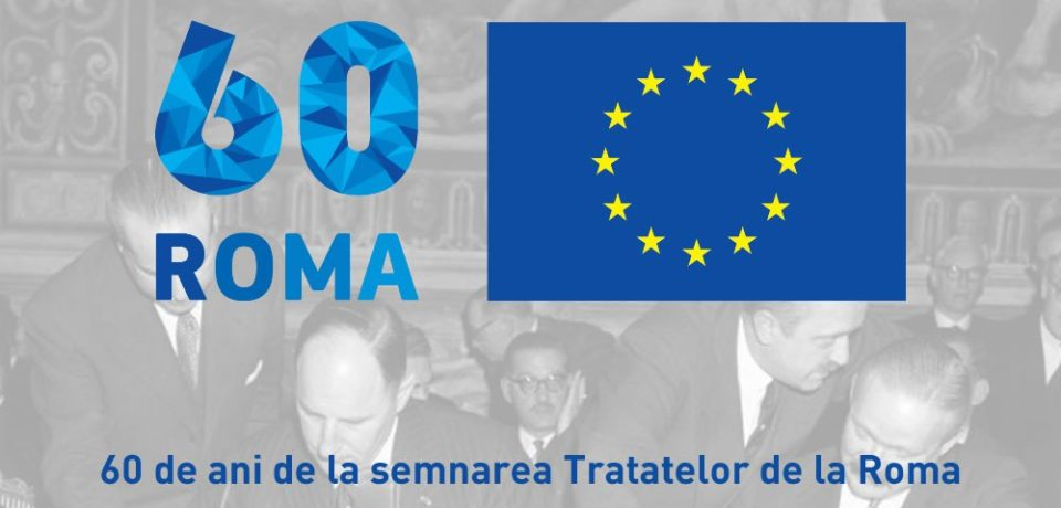 Celebrarea a 60 ani de Europă Unită –  marcată de specialiștii în Studii Europene
