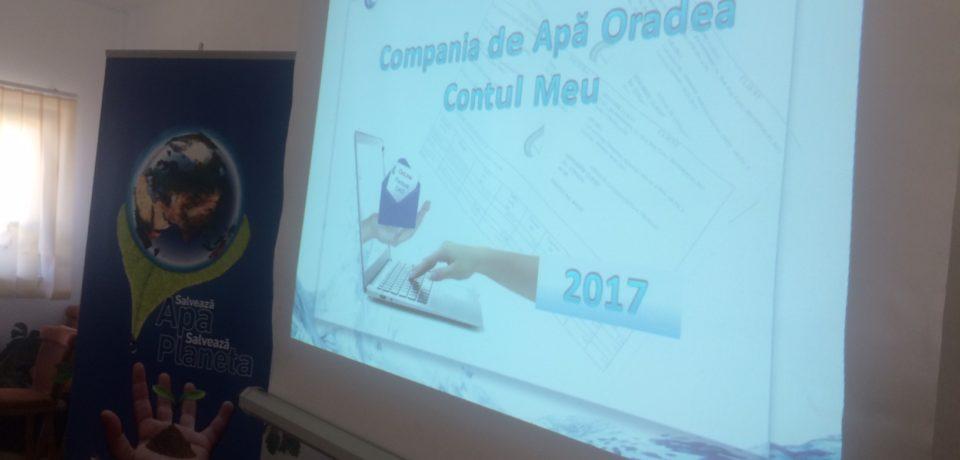 Facturile Companiei de Apa Oradea pot fi platite online. VIDEO