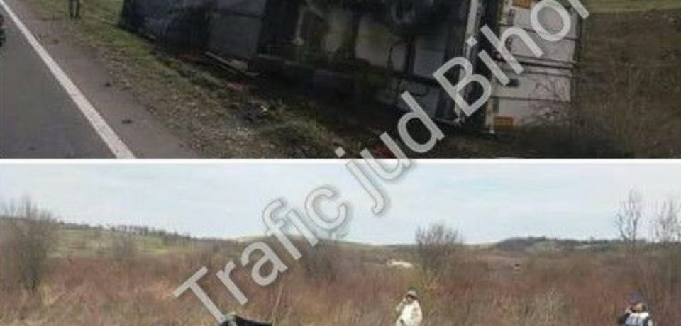 Accident mortal intra Lugaş și Urvind