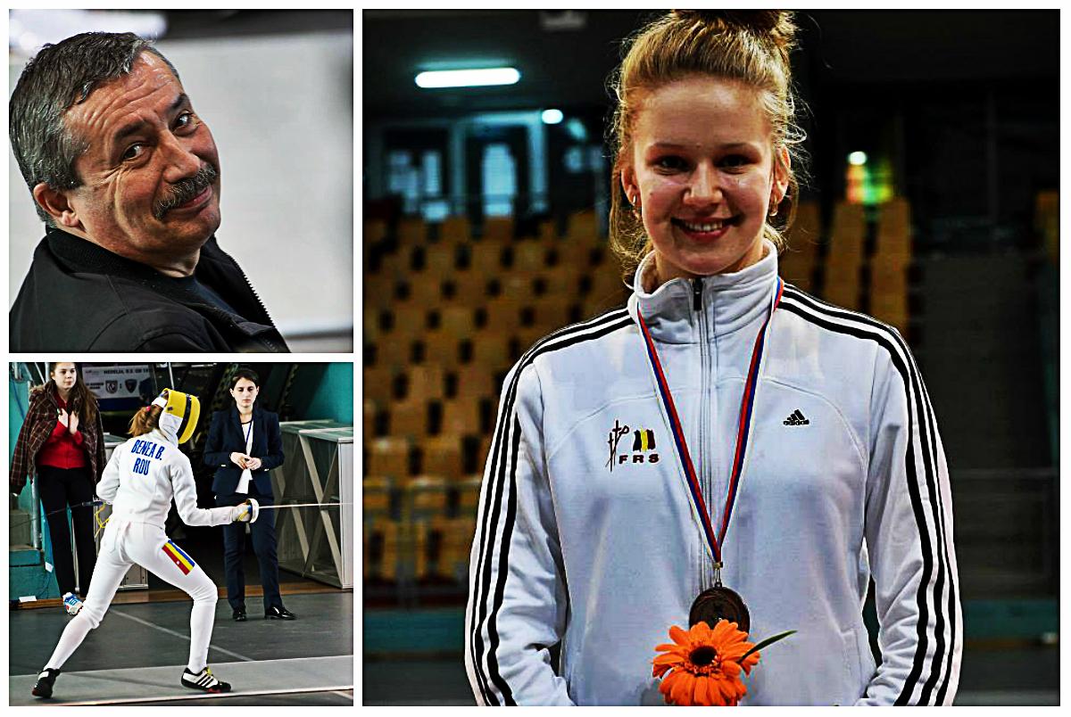 Bianca Benea a câștigat Campionatul Național de spadă individual feminin la juniori