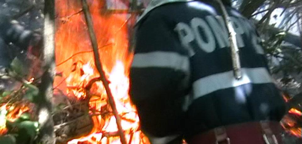 Atentie la focul de gratar. Avertismentul pompierilor de 1 Mai