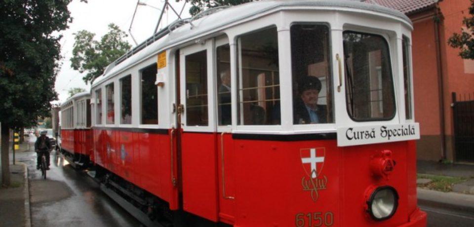 Plimbare de agrement cu tramvaiul de epocă duminică, 9 iunie