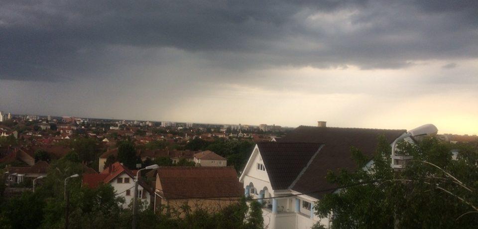 Nici Oradea nu e ferită de furtuni iminente