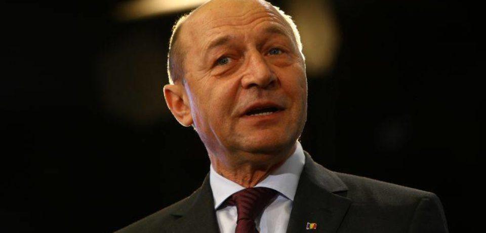 Traian Băsescu, în fața studenților de la Universitatea din Oradea