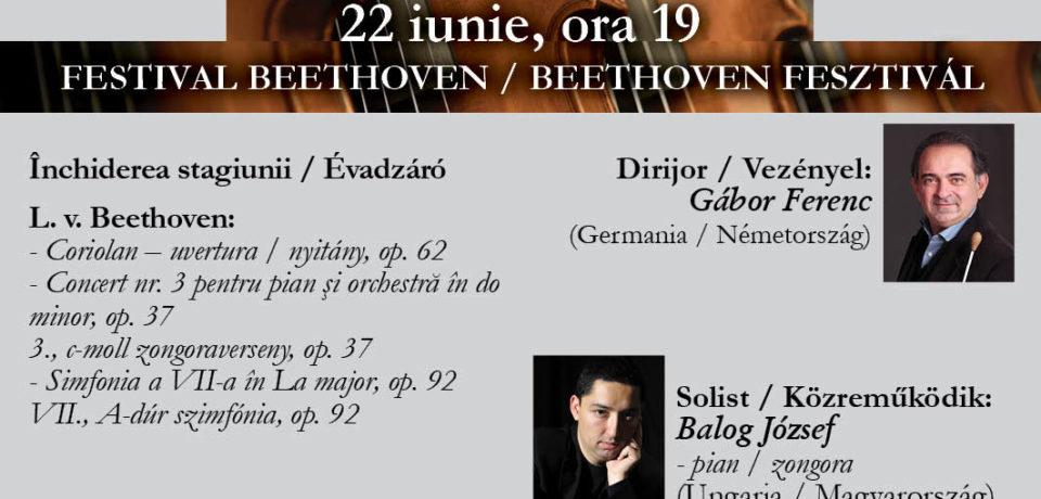 Lucrări de Beethoven la Filarmonică pentru melomanii din Oradea