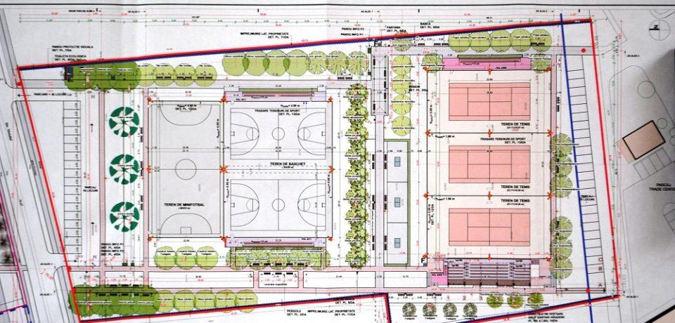 Lucrarile noului parc destinat atât loisirului, cât și activităților sportive din Oradea, incep săptămâna viitoare