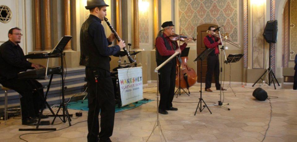 Concert extraordinar al Formaţiei Hakeshet Klezmer Band la Sinagoga Zion