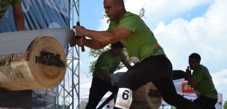 Campionatul național al tăietorilor de lemne, în Cetatea Oradea. Mulți competitori sunt bihoreni