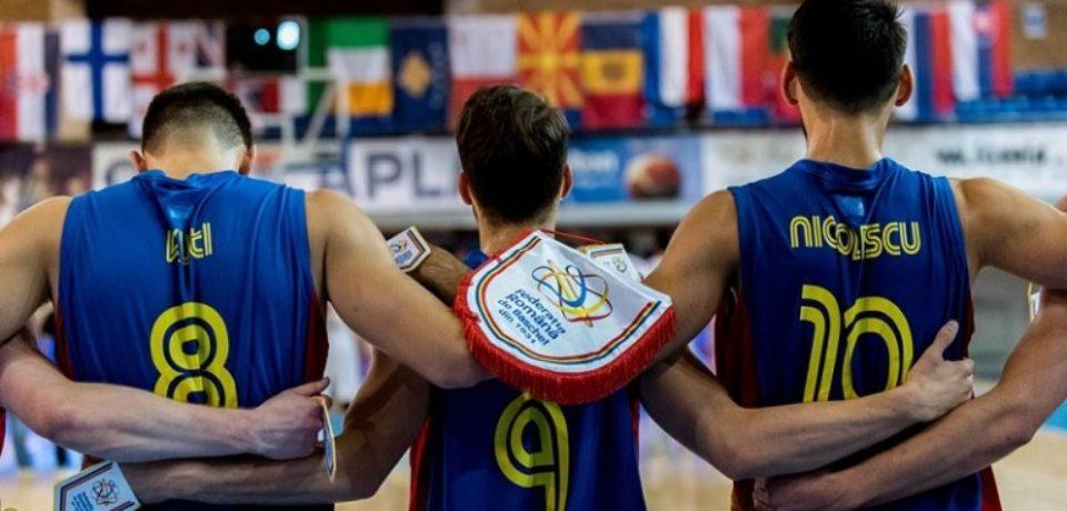 Victorii pe linie pentru baschetbalistii tricolori la Campionatul European U20 de la Oradea
