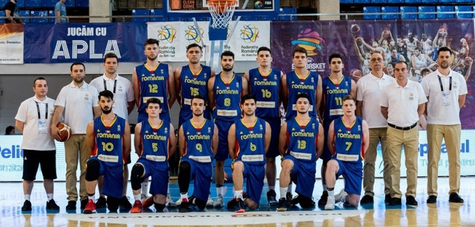 BASCHET. Romania a castigat EURO U20, Divizia B