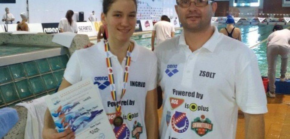 Oradeanca Huszar Ingrid e in lotul Romaniei la Festivalul Olimpic al Tineretului European