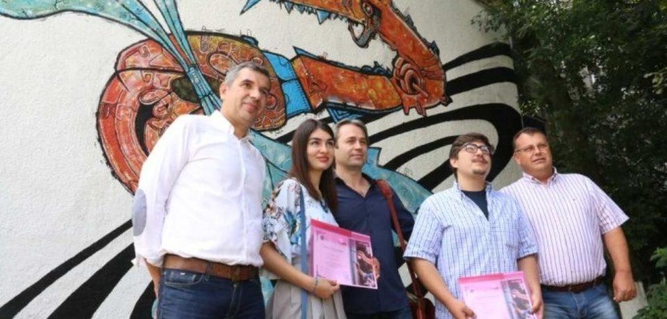 """Un inedit proiect de arta urbana """"Oradea colorata"""" prinde contur"""
