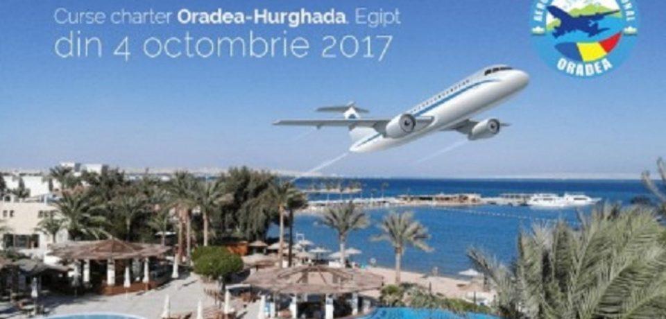 Cursa charter spre Egipt, direct de pe Aeroportul Oradea