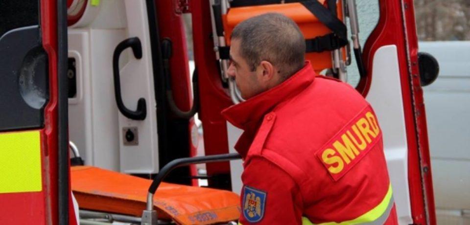 Moldoveanul ranit in accidentul de langa Oradea, a fost transportat in Basarabia cu un echipaj SMURD.