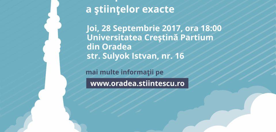 120.000 lei pentru proiectele înscrise în Programul Științescu Oradea