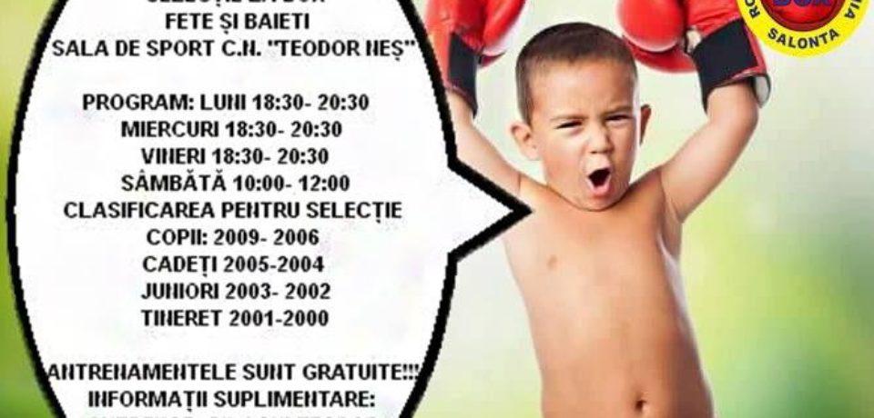 Sebastian Silaghi: Copiii sunt mult mai în siguranță practicând boxul!