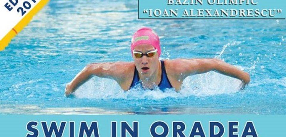 """""""Visit Oradea – Swim in Oradea – Nymphaea Trophy"""", concurs de înot"""
