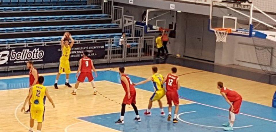 Echipa satelit CSU CSM LPS 2 Oradea începe returul fazei inaugurale din cadrul Ligii 1 la baschet masculin