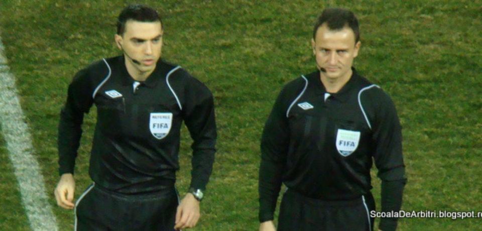 Octavian Şovre, arbitru asistent la meciul Chelsea Londra – Eintracht Frankfurt din semifinalele Ligii Europa