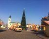 Se lucrează de zor în Piața Unirii pentru definitivarea Târgului de Crăciun