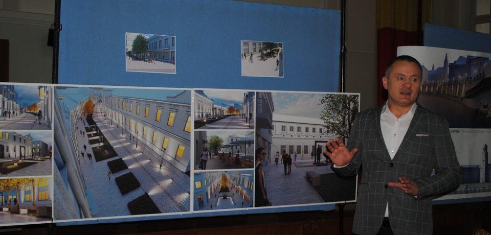 Strada Aurel Lazăr va deveni zonă de promenadă pentru orădeni