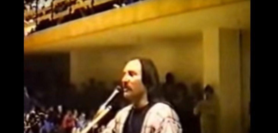 Treceţi batalioane române Carpaţii. Oradea, Sala Sporturilor, 1992. VIDEO