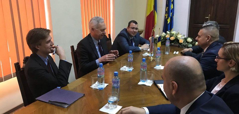 Vizita oficială în Bihor a Excelenţei Sale Hans KLEMM – Ambasador al SUA în România. Comunicat