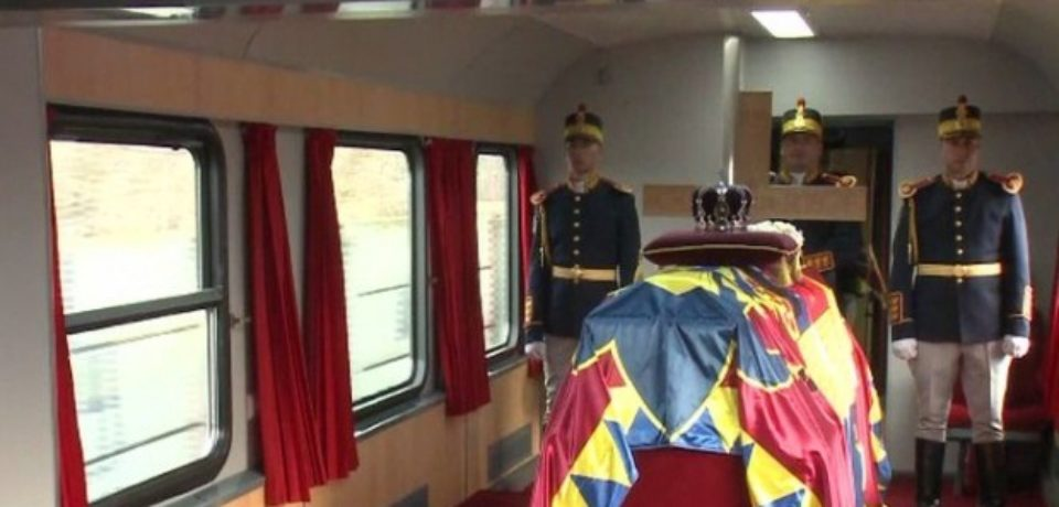 Regele Mihai, ultima călătorie. O face cu același tren l-a dus în exil