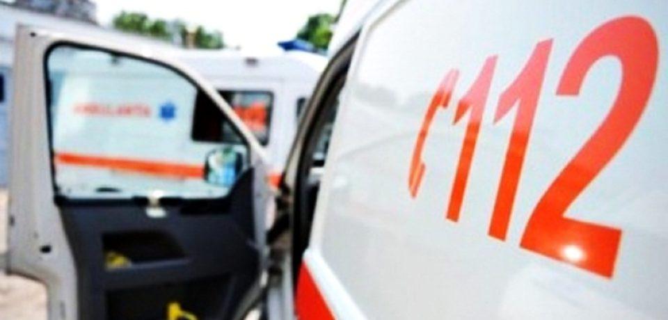 O orădeancă a ajuns la spital din cauza unei coliziuni în lanț pe strada Ecaterina Teodoroiu