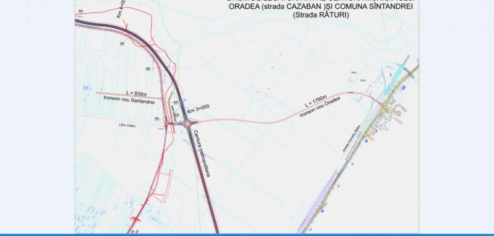 Procedură simplificată pentru realizarea dumurilor Oradea – Oşorhei şi Oradea – Sântandrei