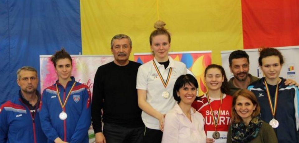 Bianca Benea a cucerit pentru a 2-a oară consecutiv titlul național la spadă juniori feminin