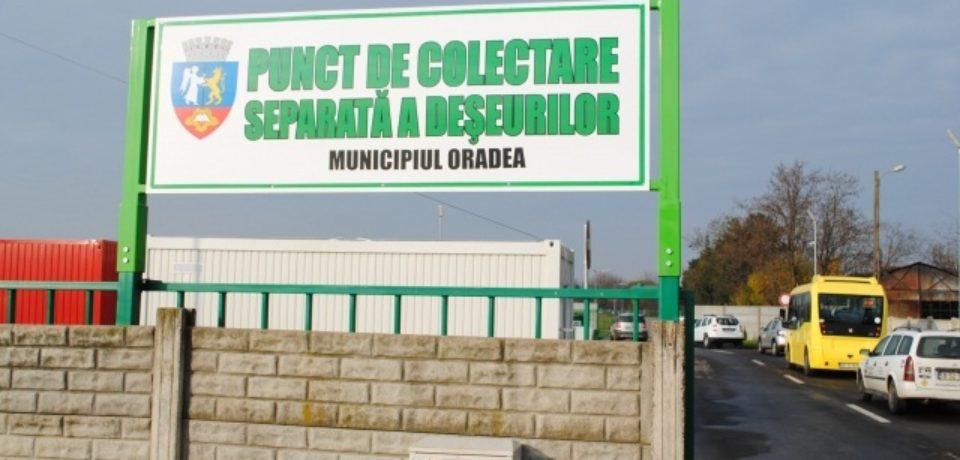 1500 tone de deșeuri au fost strânse la Centrul de colectare selectivă din Oradea