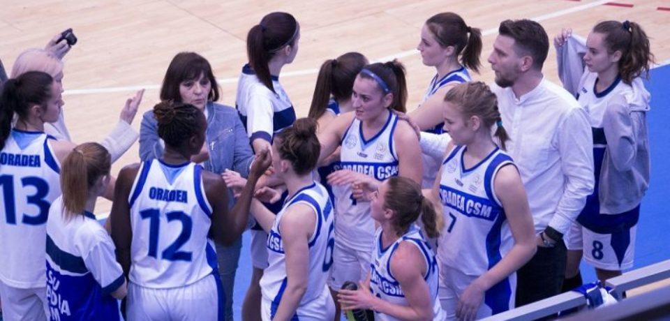 Incepe turneul final al Ligii 1 la baschet feminin.  CSU CSM Oradea e printre competitoare