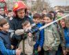 Pompierii deschid portile pentru elevi si prescolari