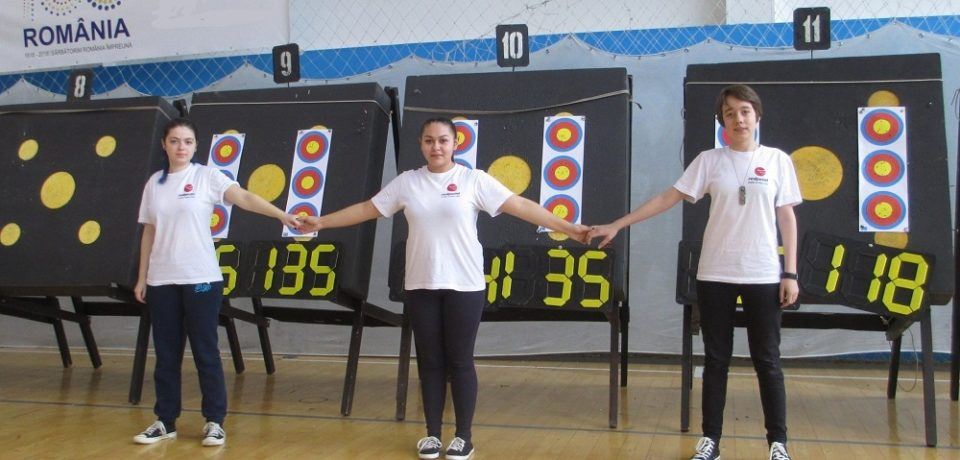 Bronz dublu la Campionatul Naţional, pentru tinerii arcaşi orădeni. Comunicat