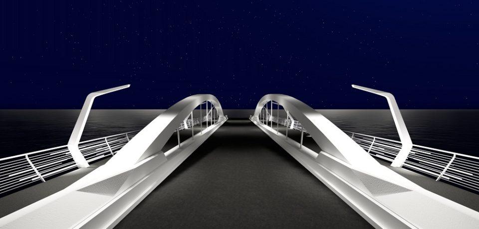 Podul Centenarului din Oradea se vrea a fi unul reprezentativ