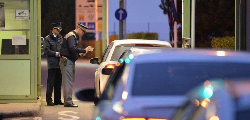 Tânăr bihorean fără permis de conducere, depistat la frontiera Borş