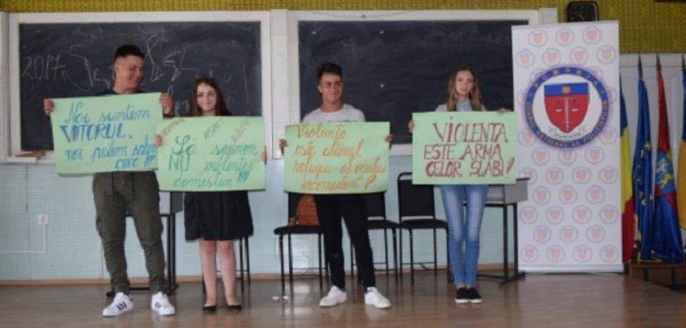 """Peste 100 de elevi din Bihor la Concursul """"ȘCOALA FĂRĂ VIOLENȚĂ"""""""