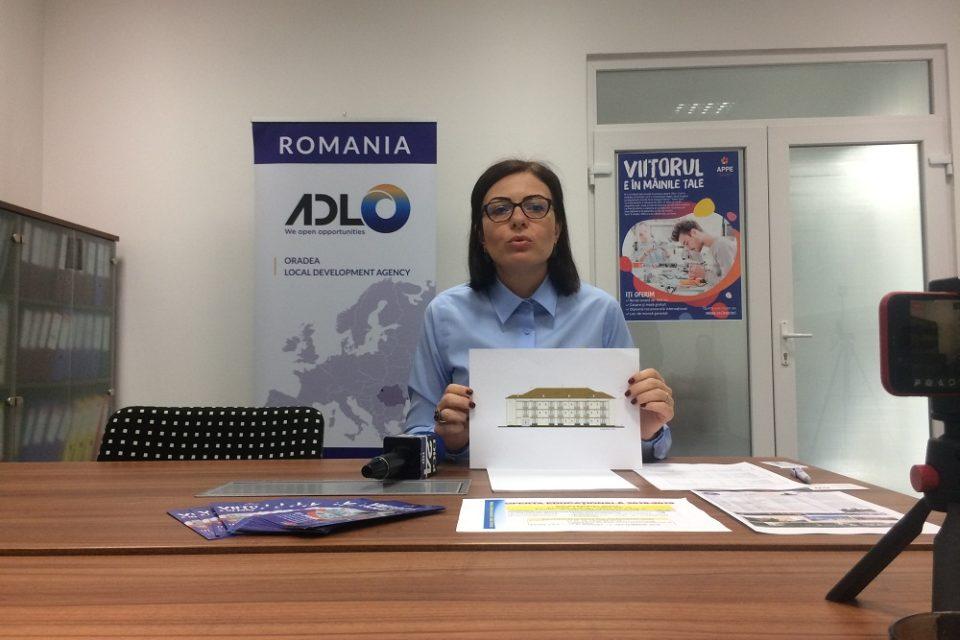 """""""Viitorul e în mâinile tale""""-campanie de promovare a învăţământului dual în şcolile din Bihor"""