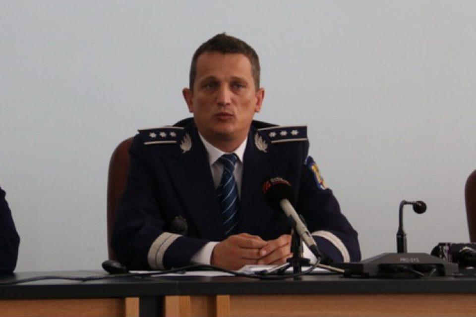 Alin Haniş rămâne la şefia Inspectoratului de Poliţie al Judeţului Bihor