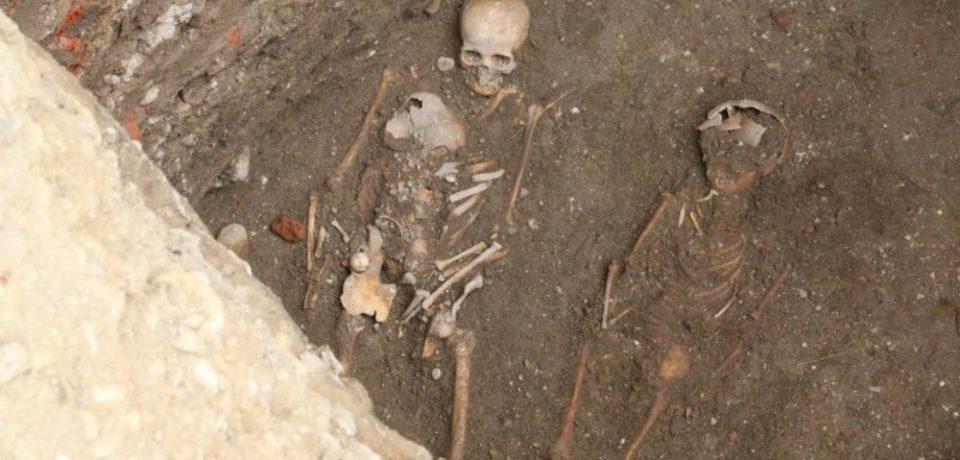 Schelete descoperite în incinta Cetăţii Oradea