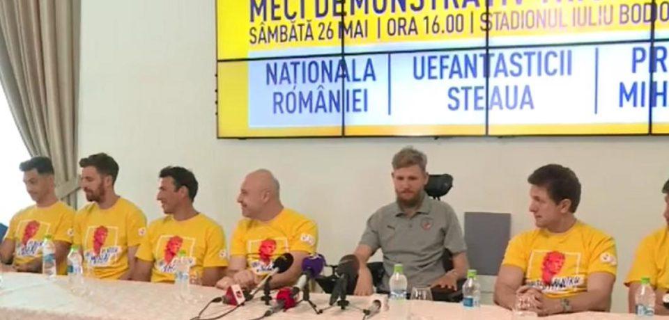 Ionuț Lupescu: Mihăiță este un exemplu pentru noi toți