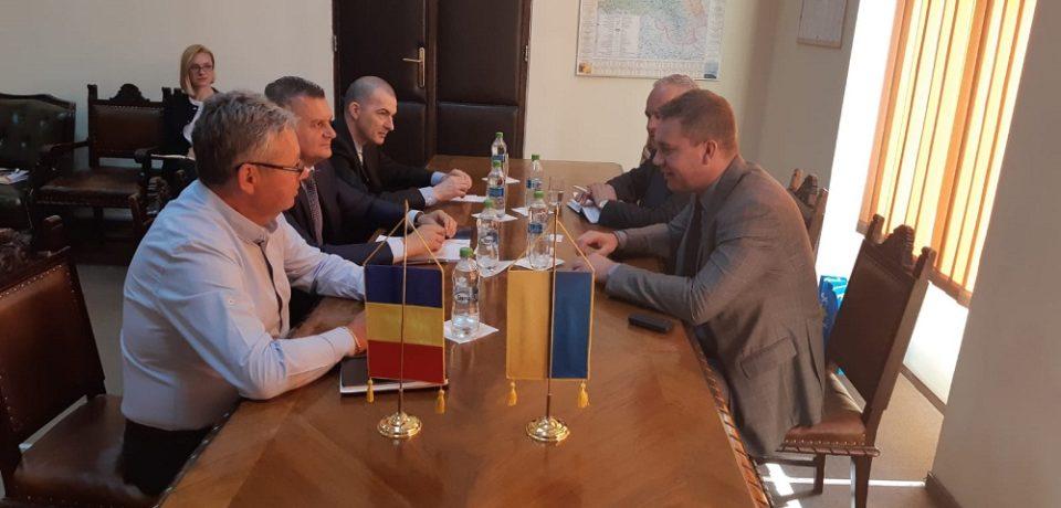 Ambasadorul Ucrainei în România a fost oaspetele Bihorului