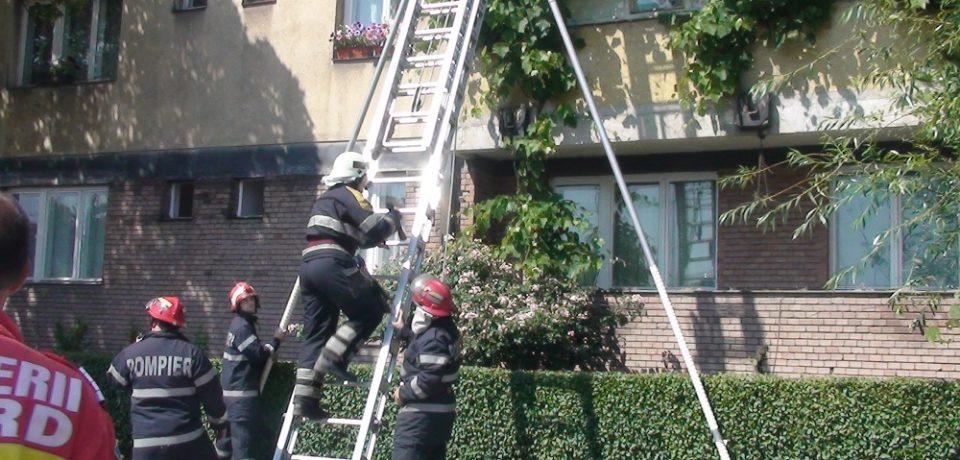 Misiuni de salvare desfășurate de pompierii din Oradea