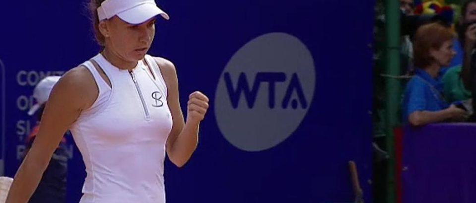 Irina Bara, în turul doi la turneul WTA de la Jurmala