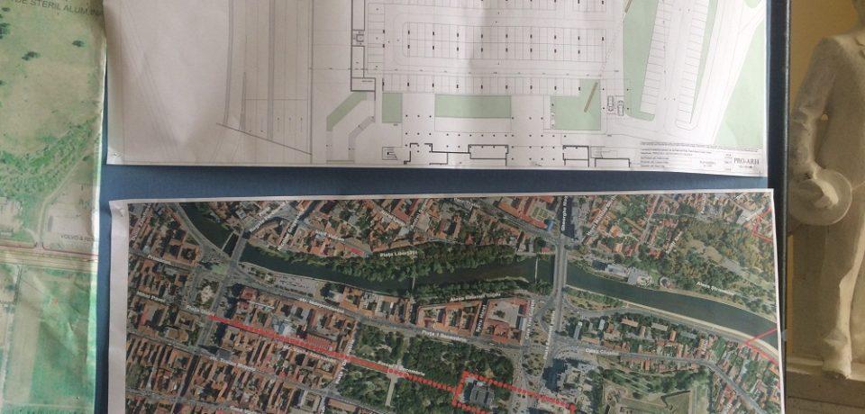 Primăria va realiza o parcare de tip Park & Ride în zona Cetății Oradea
